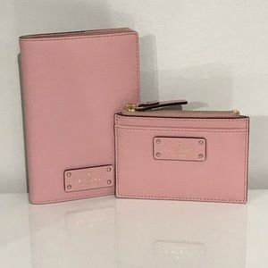 Kate Spade Imogene Grove St Passport & Card Holder